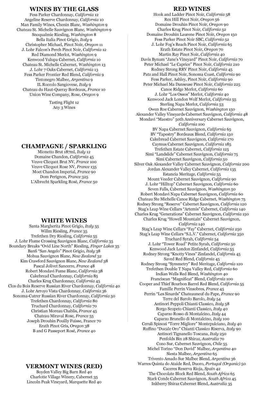 Southside-Wine-List